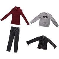 SONONIA 1/3スケール男性BJDドール用 タートルネックセーター ニットウェア ズボン スウェットシャツ ブラウス