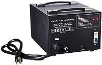LiteFuze LT-2000 2000 Watt Voltage Converter Transformer - Step Up/Down - 110V/220V - Circuit Breaker Protection [並行輸入品]