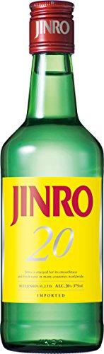 JINRO 焼酎 20度 375mlx24