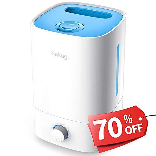 加湿器,Sakugi 3.5L 大容量 超音波式 加湿器 1...