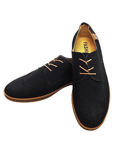RONDE コンフォートシューズ カジュアルシューズ 靴 スエードシューズ メンズ ブラック 26cm