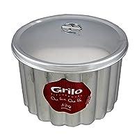 "Grilo台所用品Flanプディング金型蓋Banho Maria canelada Made in Portugal N.18 7.5"" - 18 Cm"