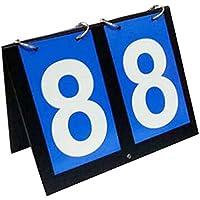 ブルー2桁スコアボードスポーツ競技大会スコアボードバスケットボールサッカー