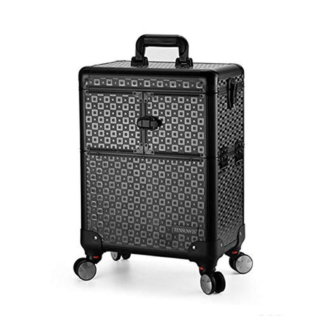 コンサルタント助手奇妙なプロ専用 美容師 クローゼット スーツケース メイクボックス キャリーバッグ ヘアメイク プロ 大容量 軽量 高品質 多機能 I-TT-4622-TB-T