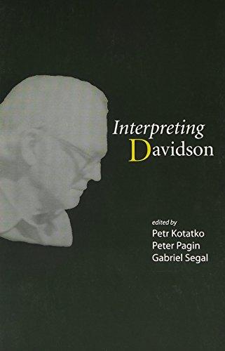 Interpreting Davidson (Csli Lecture Notes)