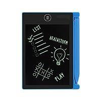 電子メモパッド 電子パッド 手書きパッド デジタルメモ LCD画板 省エネ 軽量 耐衝撃 4.4インチ ギフト用 ブルー (ブルー)