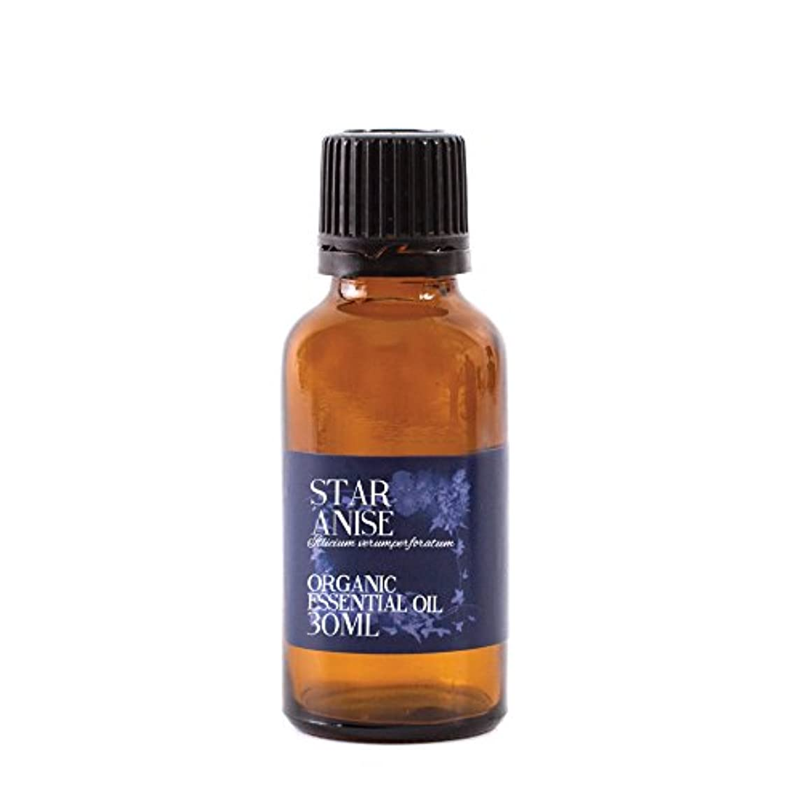 熱心涙瞑想するMystic Moments | Star Anise Organic Essential Oil - 30ml - 100% Pure