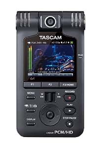 TASCAM リニアPCM/HDビデオレコーダー ブラック DR-V1HD