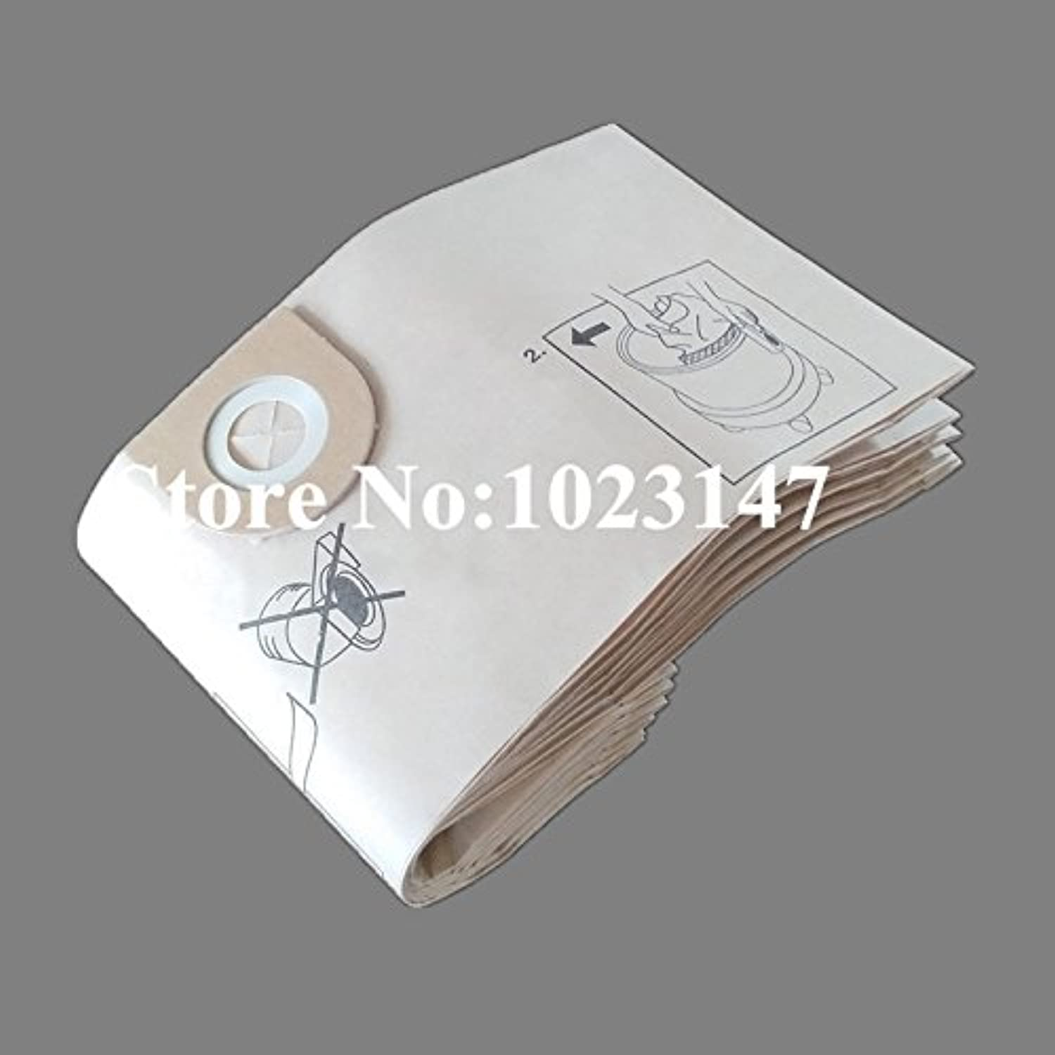 5 pieces/lot Vacuum Cleaner Bags Paper Dust Filter Bag Replacement for Vax 420 Silence Mojo Powa 1600 2000 9000 series 7151 222