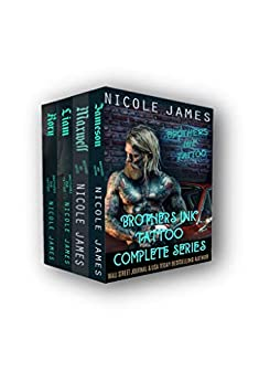 Brothers Ink Tattoo Complete Box Set: Books 1-4 by [James, Nicole]