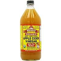 Bragg オーガニック アップルサイダービネガー 946ml Bragg Organic Raw Unfiltered Apple Vinegar 32oz [並行輸入品]