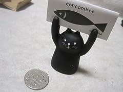 □■□ DECOLE「Concombre」アテンションメッセージホルダー 「CAT/ネコ」 ZCB-23940 □■□