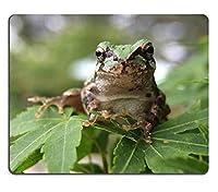 マウスパッド、ゲームマウスパッドJapanese TreeFrog TreeFrogカエルxマクロolloclip天然ゴム素材PN00X9546