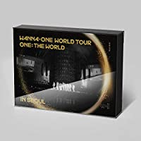 WANNA ONE WORLD TOUR ONE: THE WORLD IN SEOUL Blu-ray 2Discs+Photobook+2Magnets+11Postcards [KPOP MARKET特典: 追加特典フォトカードセット] [韓国盤]