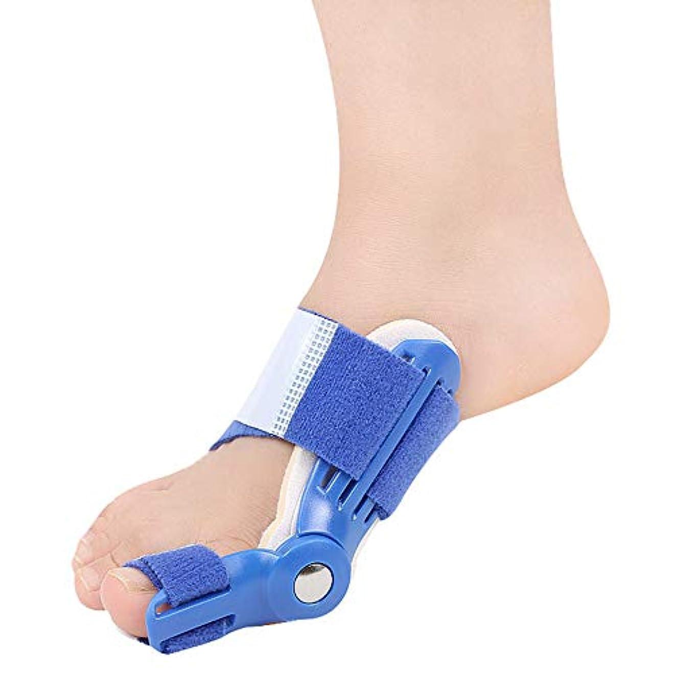 太字マーキー中間つま先セパレーターは、ヨガのエクササイズ後のつま先重なりの腱板ユニバーサル左右ワンサイズ予防の痛みと変形を防ぎます,ブルー