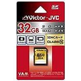 ビクター SDHCメモリーカード 32GB CLASS10 V-SD32CL10