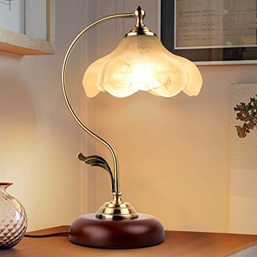Nilight テーブルライト テーブルランプ テーブル照明 間接照明ライト 雰囲気 花ランプ おしゃれ ベッドサイドランプ 装飾ランプ 説明書付き E26対応(電球付属なし)