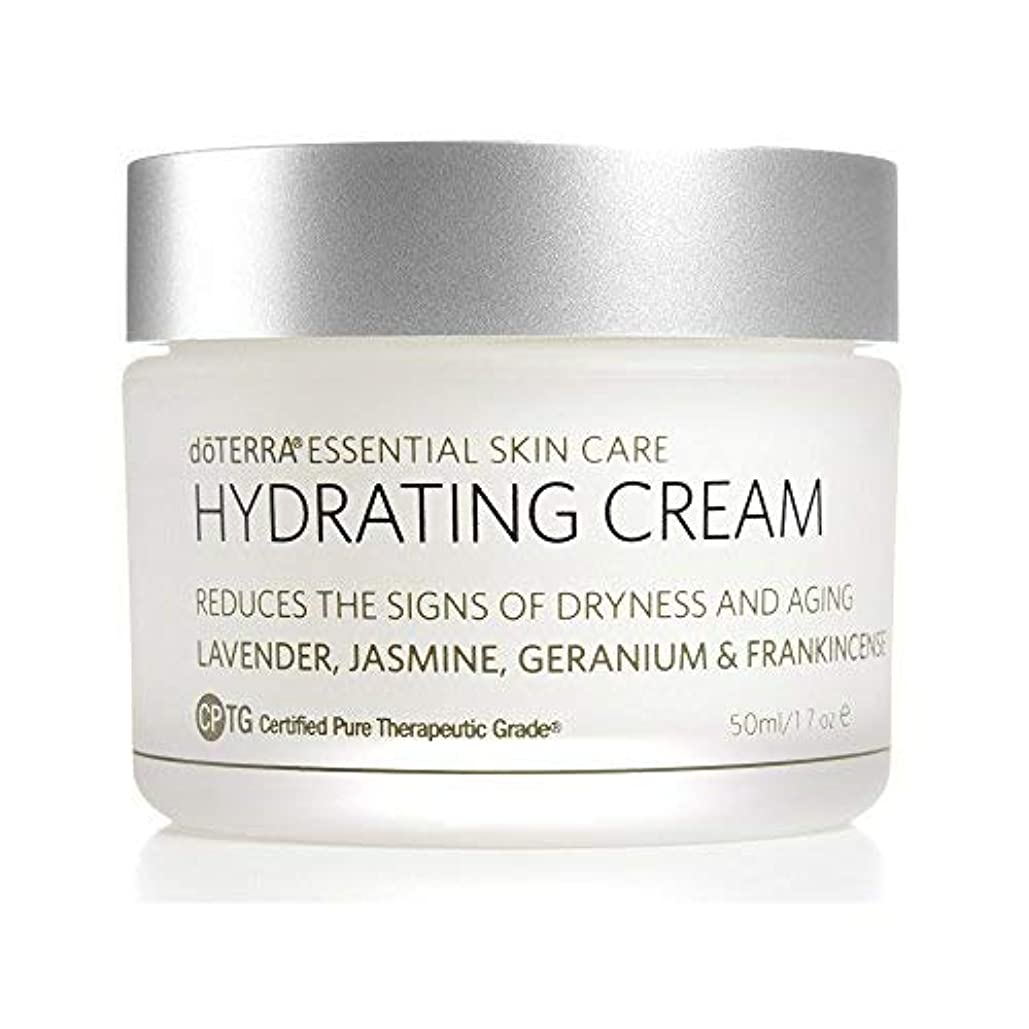 写真を撮るヤギ余剰doTERRA - Hydrating Cream - Essential Skin Care Collection - 1.7 oz [並行輸入品]