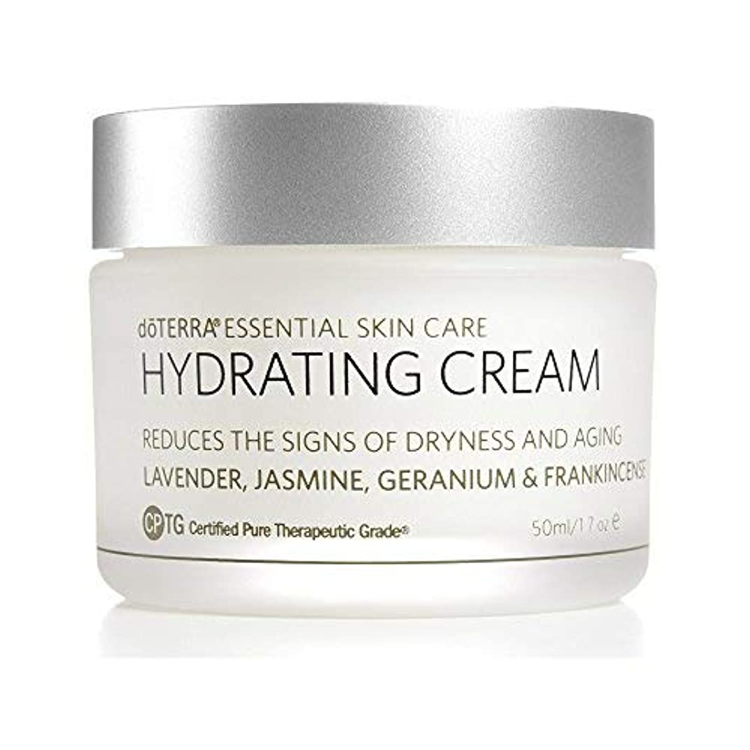 やるかりてうんざりdoTERRA - Hydrating Cream - Essential Skin Care Collection - 1.7 oz [並行輸入品]
