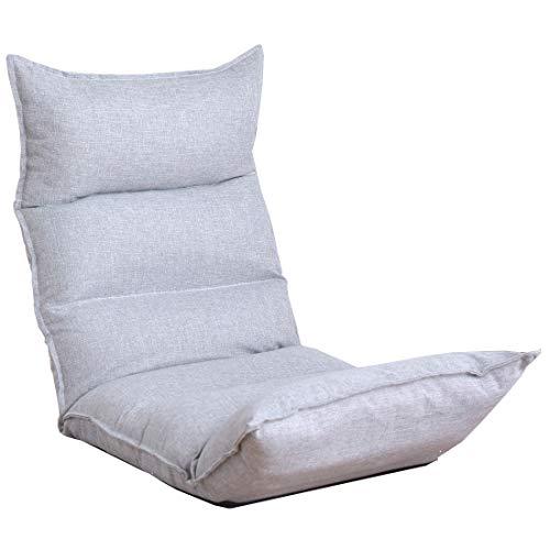 タンスのゲン 低反発座椅子 リクライニング ロココ 14段階リクライニング 肉厚クッション ISO9001認定  B06Y5CDPZS 1枚目