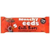 Munchy Seeds Chilli Bites 25 g (order 24 for retail outer) / Munchy種子チリバイツ25グラム(小売作者用のオーダ24 )