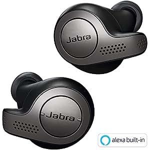 Jabra 完全ワイヤレスイヤホン Elite 65t チタニウムブラック Amazon Alexa搭載 BT5.0 ノイズキャンセリングマイク付 防塵防水IP55 2台同時接続 2年保証 北欧デザイン 【国内正規品】