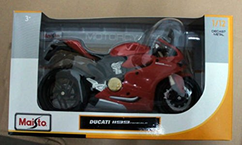 マイスト Maisto 1/12 ドゥカティ パニガーレ Ducati 1199 Panigale Red オートバイ Motorcycle バイク Bike Model 11108 [並行輸入品]