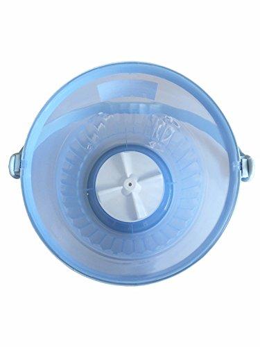 KJ バケツ洗濯機(最大容量10ℓ)【小物衣類の洗濯・野菜の泥落としに!】
