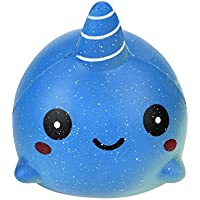 sinfu 1pcベビーおもちゃ教育Squishy Rising SqueezeコレクションSquishy Fun Big Whale Toyギフト