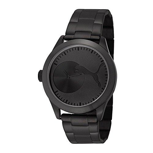 [プーマ] PUMA 腕時計 Women's Bling Metal Black Analog Display Quartz Black Watch クォーツ PU103582004 レディース [TimeKingバンド調節工具& HARP高級セーム革セット]【並行輸入品】