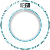 体重計 精密電子スケールホームバスルーム大人の減量体脂肪スケールインテリジェントな測定室内温度白30×30cm