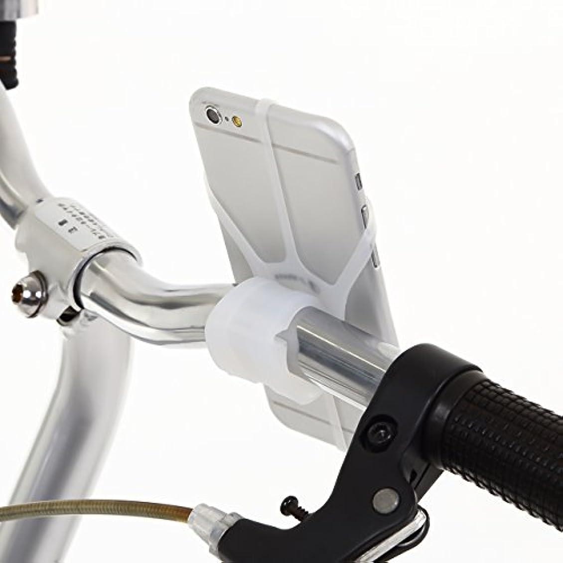 ピストン議会中断J-Vesta 自転車 スマート ホルダー 固定 スタンド シリコン タイプ iPhone7 柔軟性