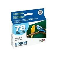 Epson t078520OEMインク–(78) Stylusフォトr260/ r280/ r380/ rx580/ rx595/ rx680アーティザン50Claria hi-definitionライトシアンインク(525Yield) OEM