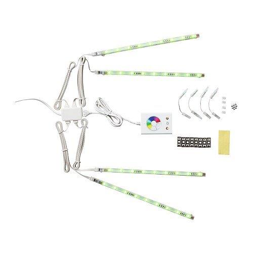IKEA(イケア) DIODER 30202327 LEDスティックライト4本セット, マルチカラー