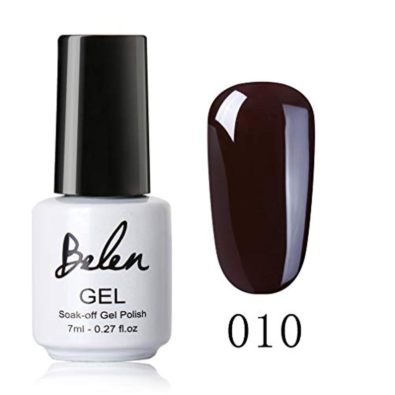 Belen ジェルネイル カラージェル ブラウン系 1色入り 7ml 【全12色選択可】
