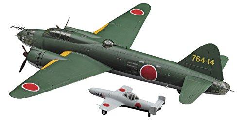 ハセガワ 1/72  音速雷撃隊 三菱 G4M2E 一式陸上攻撃機 24型 丁w/桜花 11型