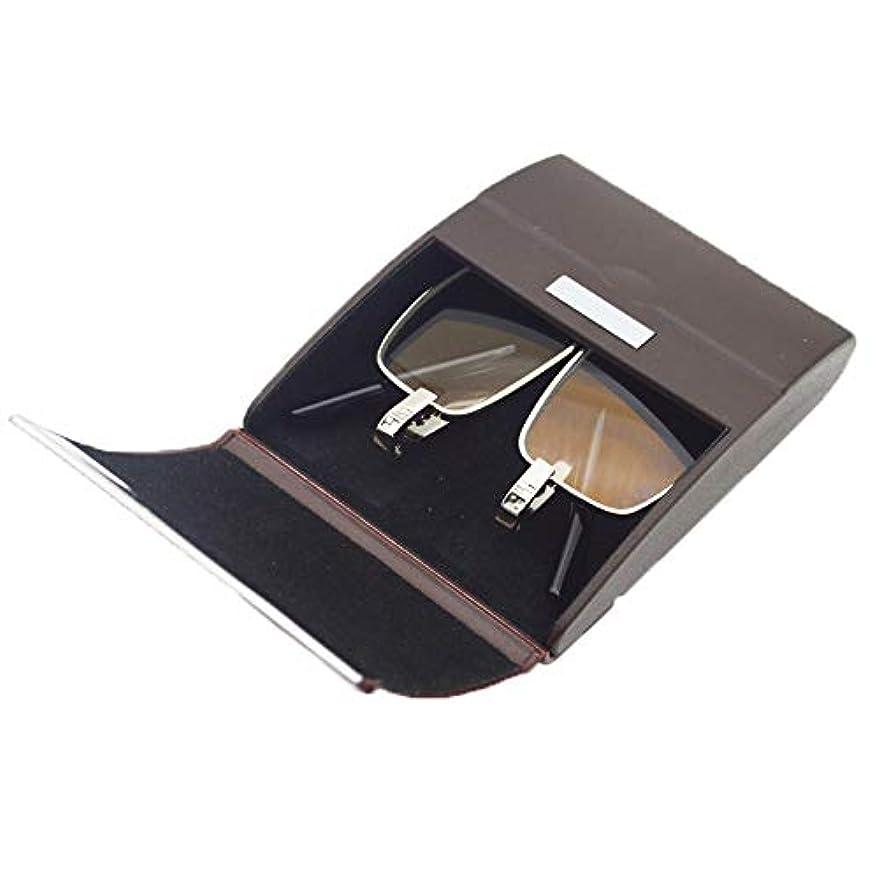抗疲労折りたたみ老眼鏡、耐摩耗性抗スクラッチ樹脂レンズオールドメガネゴーグル、メタルフルフレームスプリングヒンジメガネ、男性と女性の老眼に適した