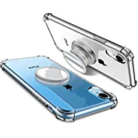 Miracase iPhone XRケース リングを代わり 持ちやすい 磁気 マグネット 軽量 スタンド メーカー直営店 1年間保証