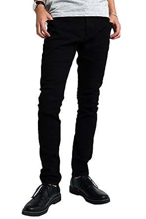 [インプローブス] チノパン インプローブス ストレッチ スリム スキニー カラーパンツ メンズ ブラック L サイズ 96560 日本 カジュアルパンツ (日本サイズL相当)