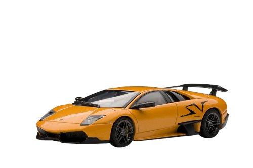 AUTOart 1/43 ランボルギーニ ムルシエラゴ LP670-4 スーパーヴェローチェ (オレンジ) 完成品