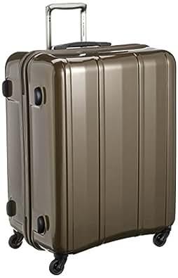 [エバウィン] EVERWIN スーツケース 超軽量 大容量 静音 無料預入受託サイズ TSAロック 100L 4.2kg 64cm 31228 GY (メタリックグレー)