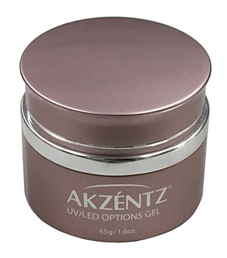 研磨たっぷり累積AKZENTZ クリスタルクリア UV/LED 45g コンテナ UV/LED対応(アクセンツ ジェル)