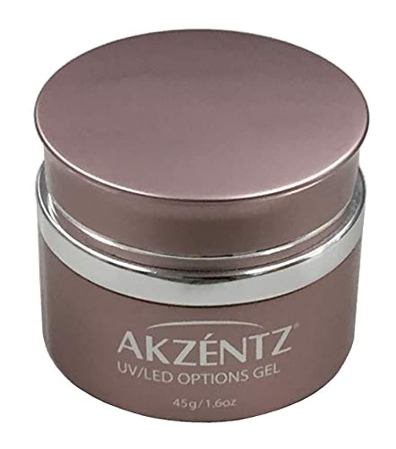 聖域ブルジョン廃止AKZENTZ クリスタルクリア UV/LED 45g コンテナ UV/LED対応(アクセンツ ジェル)