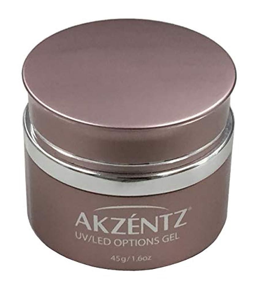 証言する小数承認AKZENTZ クリスタルクリア UV/LED 45g コンテナ UV/LED対応(アクセンツ ジェル)