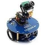 Waveshare alphabot2PiゼロAcceパックロボット建物キットfor Raspberry Pi Zero /ゼロW ( Pi )なし、赤外線/ Bluetooth / Wifiリモートコントロールビデオ監視