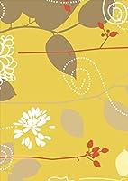 ポスター ウォールステッカー シール式ステッカー 飾り 364×515㎜ B3 写真 フォト 壁 インテリア おしゃれ 剥がせる wall sticker poster pb3wsxxxxx-001893-ds フラワー 花 フラワー 黄色