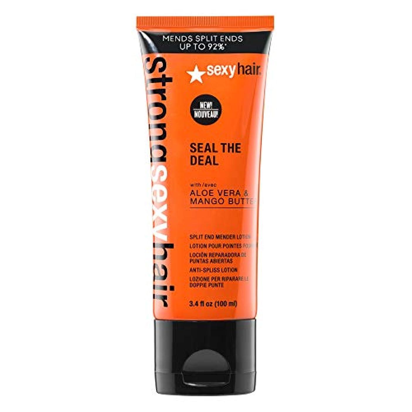 処理乳製品孤児セクシーヘアコンセプト Strong Sexy Hair Seal The Deal Split End Mender Lotion 100ml/3.4oz並行輸入品