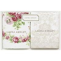 ローラ アシュレイ LAURA ASHLEY ミニタオル セット 化粧箱入り プレゼント 25×25cm
