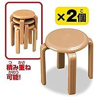 誰得!?俺得!!シリーズSELECTION 机と椅子 [3.丸椅子(2個入)](単品)