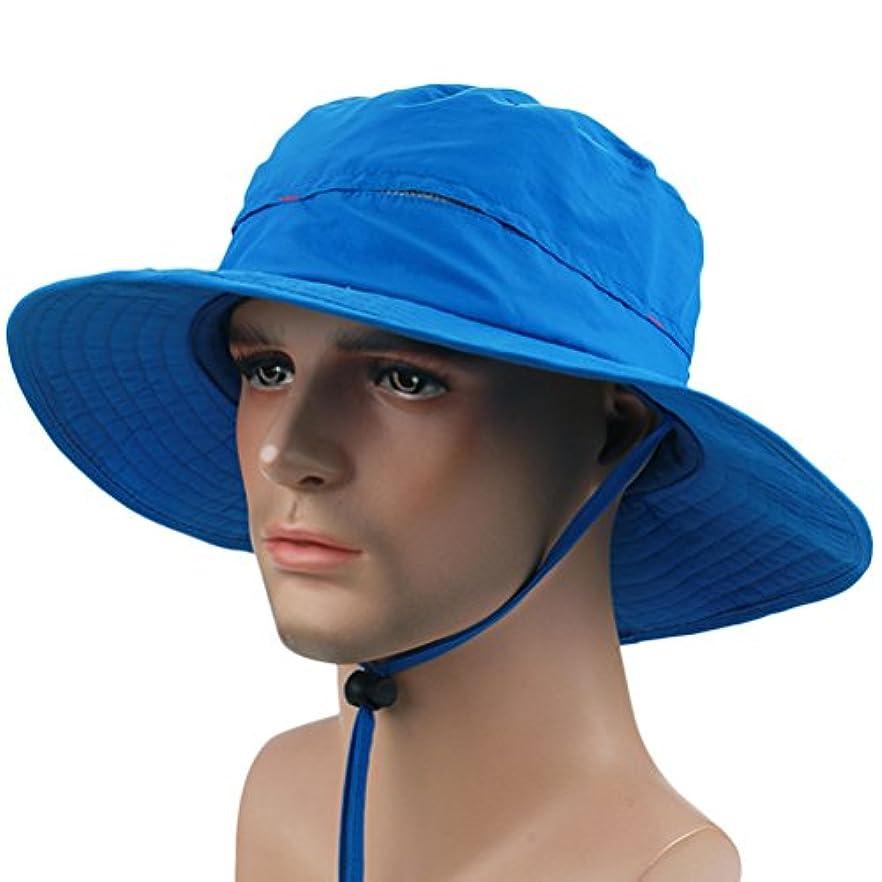 キャンドルちょっと待って迷彩Zhhlaixing 高品質の Unisex Breathable Sunscreen Sun Cap Outdoor Adjustable Fishing Hats 6